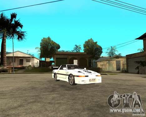 Toyota Supra MK3 Tuning pour GTA San Andreas vue arrière