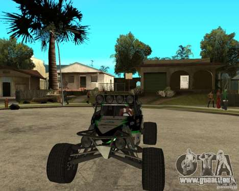 BAJA BUGGY für GTA San Andreas Rückansicht