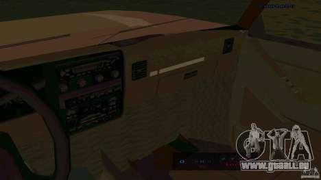 HD Huntley pour GTA San Andreas sur la vue arrière gauche