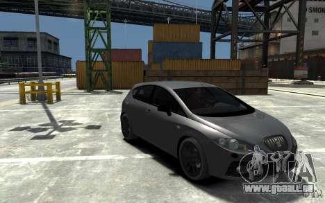 Seat Leon Cupra v.2 für GTA 4 Rückansicht