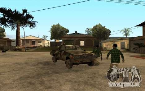 DATSUN 620 pour GTA San Andreas laissé vue