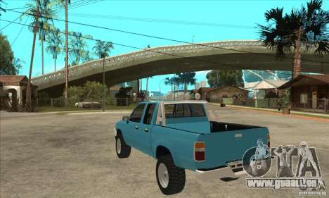 Toyota Hilux CD pour GTA San Andreas sur la vue arrière gauche