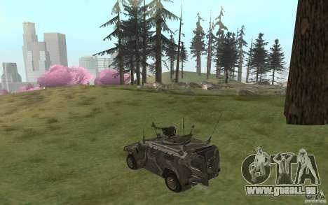 GAZ-2975 pour GTA San Andreas laissé vue