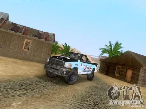 Dodge Ram Trophy Truck für GTA San Andreas rechten Ansicht