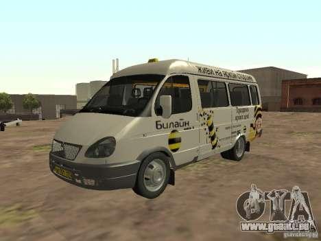 Gazelle 32213 Beeline für GTA San Andreas