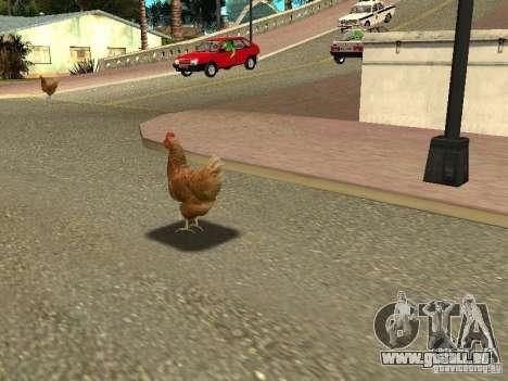 Patrouille de poulet pour GTA San Andreas