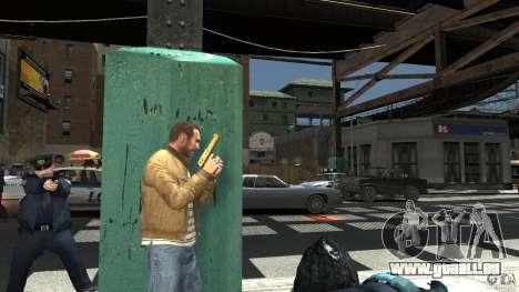 Gold Desert Eagle für GTA 4 dritte Screenshot