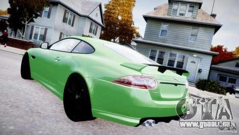 Jaguar XKR-S 2012 pour GTA 4 est une gauche