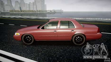 Ford Crown Victoria 2003 v.2 Civil für GTA 4 linke Ansicht