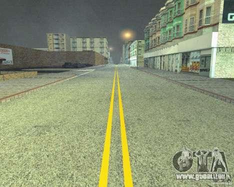 Construction de nouvelles routes à San Fierro pour GTA San Andreas