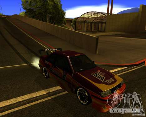 GTA VI Futo GT custom pour GTA San Andreas vue intérieure