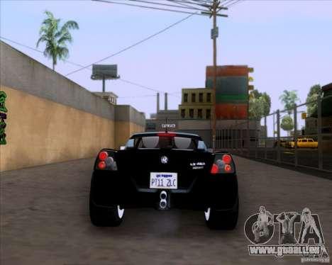Vauxhall VX220 Turbo für GTA San Andreas rechten Ansicht