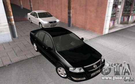 Nissan Almera Classic pour GTA San Andreas vue de droite