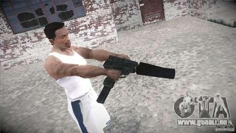 Weapon Pack by GVC Team pour GTA San Andreas quatrième écran