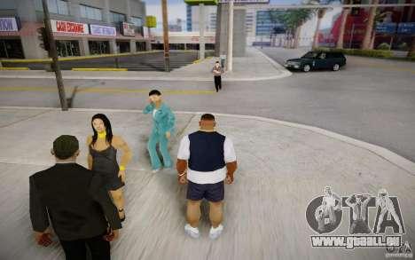 Gens qui parlent au téléphone pour GTA San Andreas deuxième écran