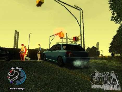 Subaru Impreza Wagon 2004 - 2002 für GTA San Andreas rechten Ansicht