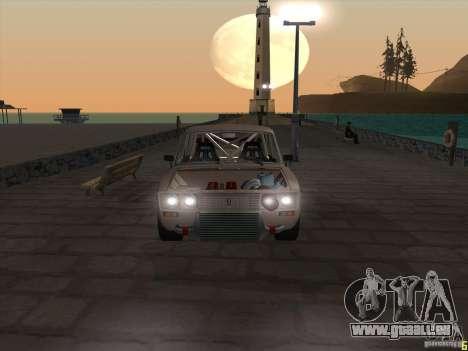 Style dérive de VAZ 2106 pour GTA San Andreas vue de droite