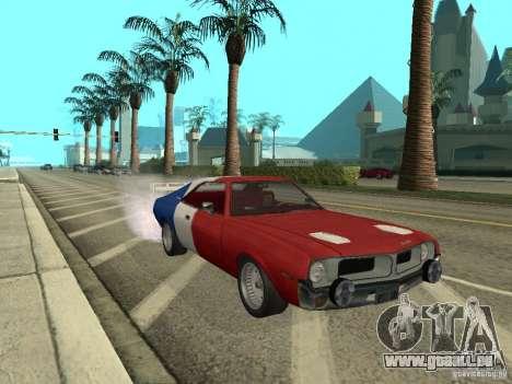 AMC Javelin 1970 pour GTA San Andreas vue de droite