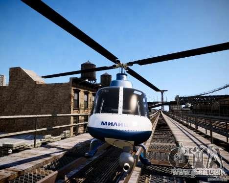 Russian Police Maverick für GTA 4 rechte Ansicht
