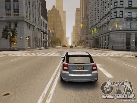 Dodge Caliber für GTA 4 Rückansicht