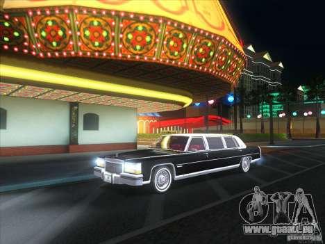 Cadillac Fleetwood Limousine 1985 für GTA San Andreas rechten Ansicht