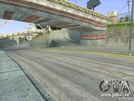 Grove Street Retextured pour GTA San Andreas