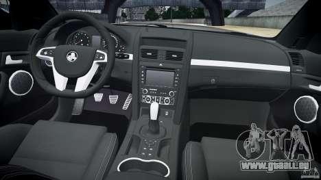 Holden Commodore SS (CIVIL) für GTA 4 obere Ansicht