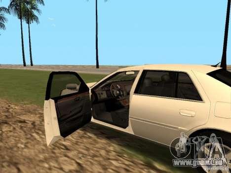 Cadillac DTS 2010 pour GTA San Andreas vue arrière