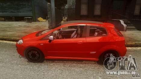 Fiat Punto Evo Sport 2010 für GTA 4 linke Ansicht