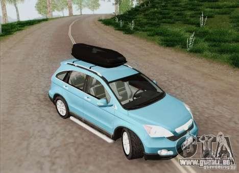 Honda CRV 2011 für GTA San Andreas Innenansicht