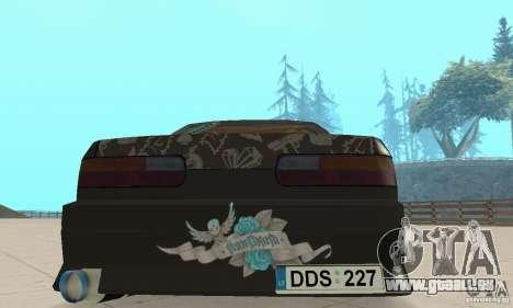 Nissan Silvia S13 NonGrata für GTA San Andreas Innenansicht