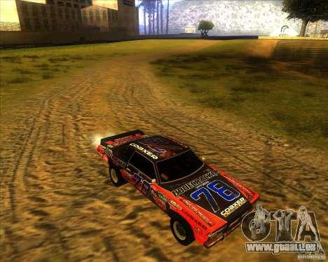 Bonecracker de FlatOut 1 pour GTA San Andreas vue arrière