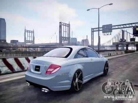 Mercedes-Benz CL65 AMG pour GTA 4 est une gauche