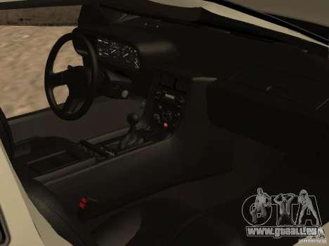 DeLorean DMC-12 für GTA San Andreas Unteransicht