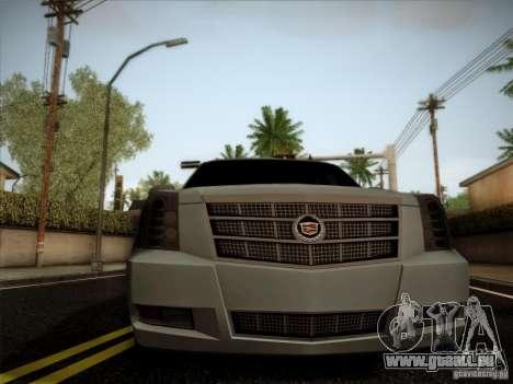 Cadillac Escalade ESV Platinum pour GTA San Andreas vue de droite