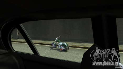 HellFire Chopper pour GTA 4 Vue arrière
