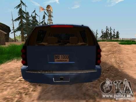GMC Yukon Denali XL für GTA San Andreas rechten Ansicht