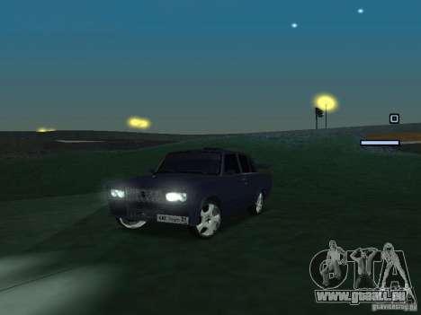 VAZ 2105 Drift King pour GTA San Andreas laissé vue