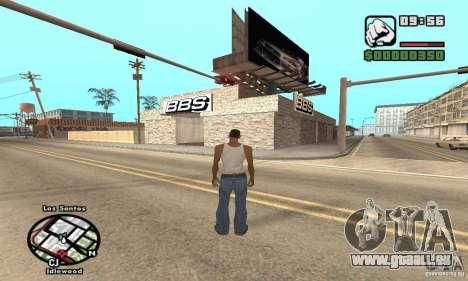 BBS PaynSpray pour GTA San Andreas
