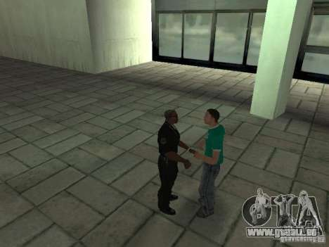 SFnews ou la possibilité de donner une interview pour GTA San Andreas quatrième écran