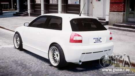 Audi A3 Tuning für GTA 4 rechte Ansicht