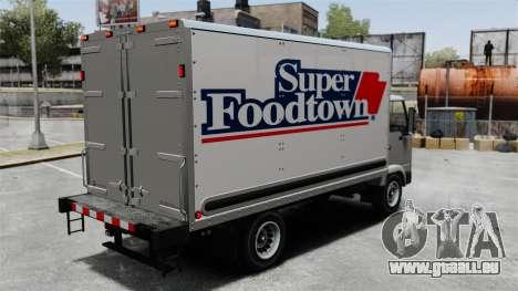 Neue Inserate für den Truck, Mule für GTA 4 linke Ansicht