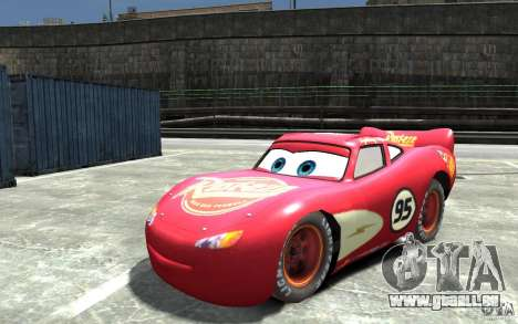 Lighting McQueen für GTA 4