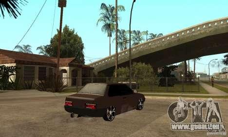 21099 Coupé de Lada ВАЗ pour GTA San Andreas sur la vue arrière gauche