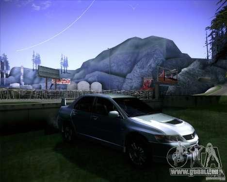 Mitsubishi Lancer Evolution VIII MR für GTA San Andreas rechten Ansicht