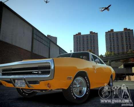 Dodge Charger Magnum 1970 pour GTA 4 est une vue de l'intérieur
