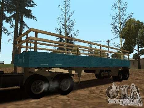 Remorque pour Kamaz 5410 pour GTA San Andreas