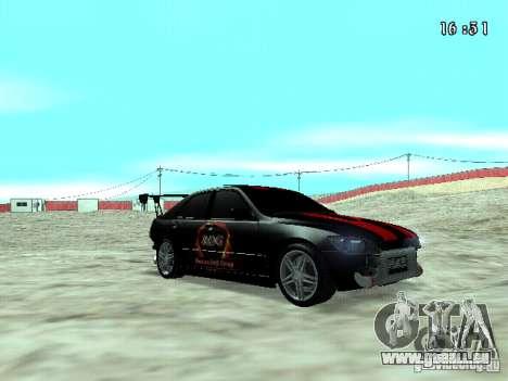 Toyota Altezza NKS Drift pour GTA San Andreas vue de droite