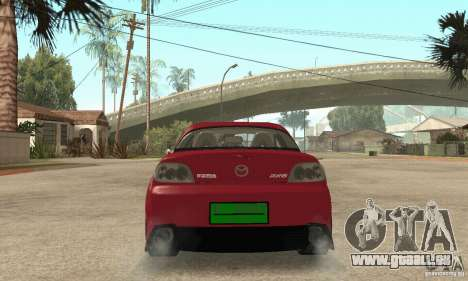 Mise en marche du moteur et les phares pour GTA San Andreas troisième écran