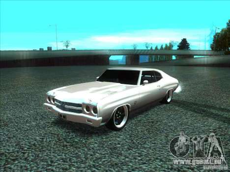 Chevrolet Chevelle SS Domenic from FnF 4 für GTA San Andreas